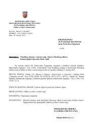 Prijedlog rješenja o imenovanju članova Školskog odbora ...