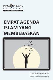 EMPAT AGENDA ISLAM YANG MEMBEBASKAN - Democracy Project