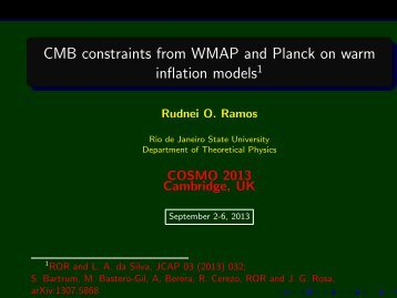 CMB constraints from WMAP and Planck on warm inflation models ...