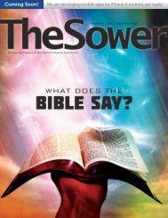 Dear Sower - Spirit & Truth Fellowship International