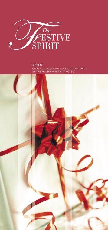 Vánoce a Silvestr 2012 - Prague Marriott Hotel
