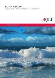FLASH REPORT - JLT