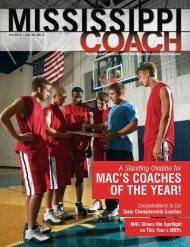 MAC's CoAChes of the YeAr! - The Paginator