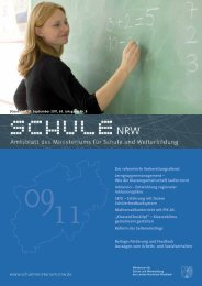 Der reformierte Vorbereitungsdienst Neue Lehrerausbildung in NRW