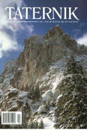 Taternik 1 2001 - Polski Związek Alpinizmu