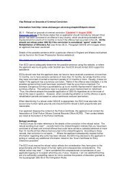 Visa Refusal on Grounds of Criminal Conviction Information ... - Ecb