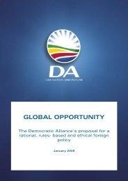 Open... - Democratic Alliance