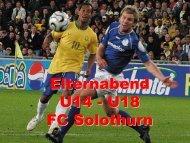 Elternabend U14 - U18 FC Solothurn
