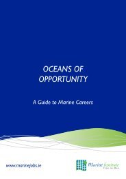 OCEANS OF OPPORTUNITY - Marine Institute