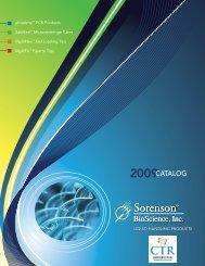2009CATALOG - CTR Scientific