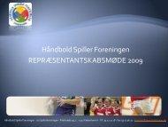 Kåringer – Eventsponsorater - Håndbold Spiller Foreningen