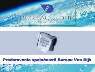 Predstavenie spoločnosti Bureau Van Dijk