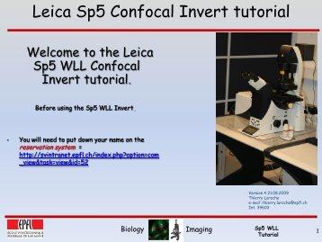 Leica Sp5 WLL V4 21.08.2009.pdf - EPFL