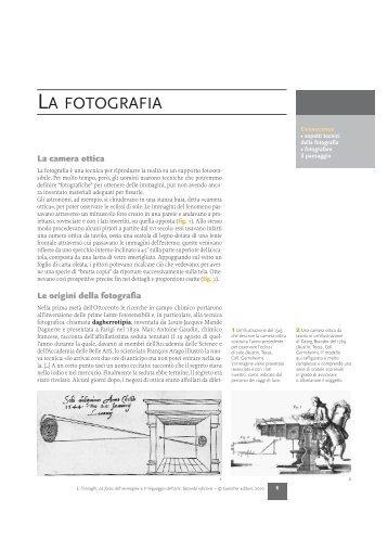 LA FOTOGRAFIA - Loescher Editore