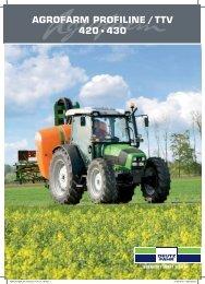 AGROFARM PROFILINE / TTV 420 s430