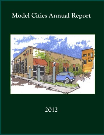 Model Cities Annual Report 2012