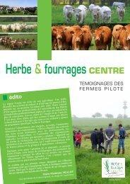 Herbe & fourrages CENTRE - Chambre d'agriculture de l'Indre