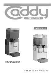 CADDY 10 UL CADDY 5 UL - Services Unlimited, Inc.