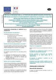 Notice formulaire 226-B - Risques naturels Spécifiques à la Montagne