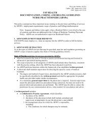 SECTION 4 - BILLING SERVICES OF NON-PHYSICIANS