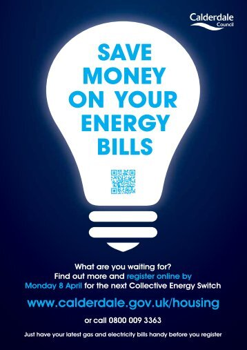 SAVE MONEY ON YOUR ENERGY BILLS - Halifax Central Initiative