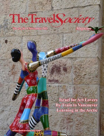 Volume 29, No.9 – November 2011 - The Travel Society