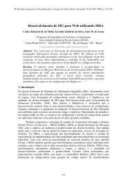 Desenvolvimento de SIG para Web utilizando MDA