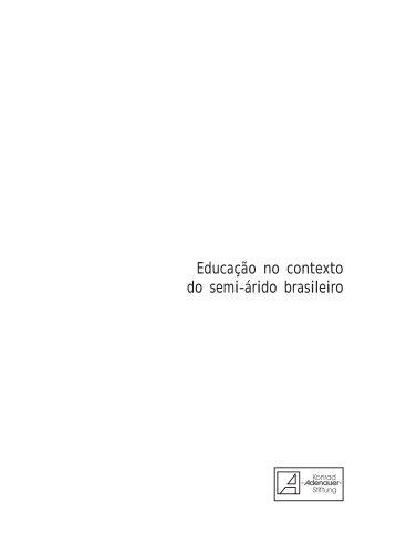 Educação no contexto do semi-árido brasileiro - É do Campo