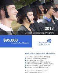 FRS Scholarships