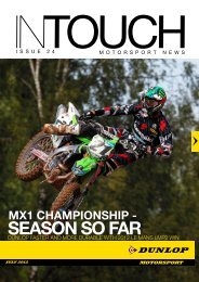 Intouch: Issue #24 Download Dunlop Motorsport magazine click