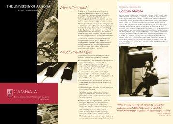 Camerata - College of Fine Arts - University of Arizona