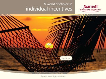 individual incentives - Marriott