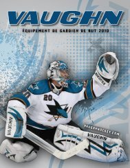 Équipement de gardien de but 2010 - Hockey2K