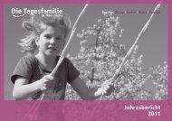 Download Jahresbericht 2011 - Die Tagesfamilie
