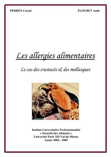 Les allergies alimentaires - Julien Tap