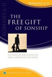 Free Gift of Sonship-Txt-ART - Matthias Media