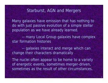 Mergers & Starbursts