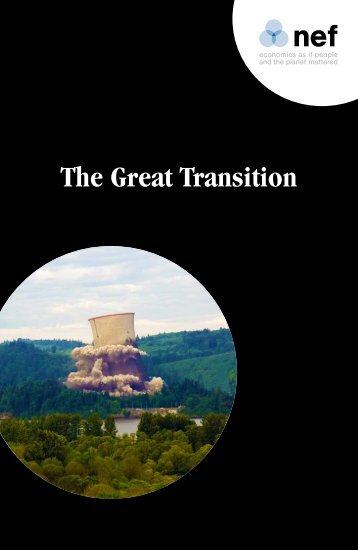 Nef: The Great Transition - Our Future Planet