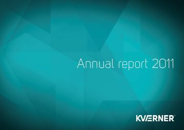 Annual Report 2011 - Kvaerner