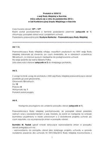 odnośnik - Biuletyn Informacji Publicynej Gminy Barcin