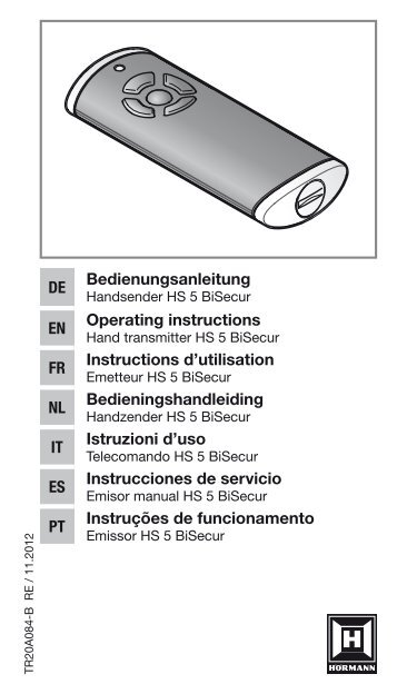 Template B60xH105 - Hörmann