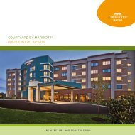 COURTyARD By MARRIOTT ® PROTO-MODEL DESIGN