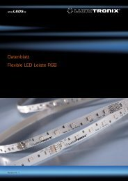 Datenblatt Flexible LED Leiste RGB - LEDS.de