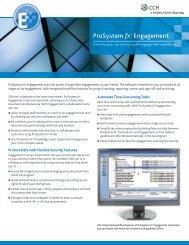 ProSystem fx® Engagement - CCH