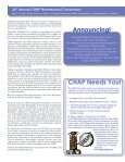Convention Program - Christian Homeschool Association of ... - Page 6