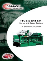FLC 513 and 514 - Derrick Equipment Company