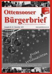 Bürgerbrief - SPD Ottensoos