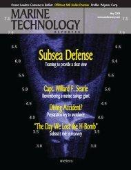 MTR May Cover V2.qxd - Marine Technology Magazine, Technology ...