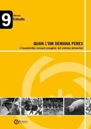 QUAN L'OM DEMANA PERES - Generalitat de Catalunya