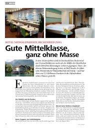 Gute Mittelklasse, - hoteljournal.ch